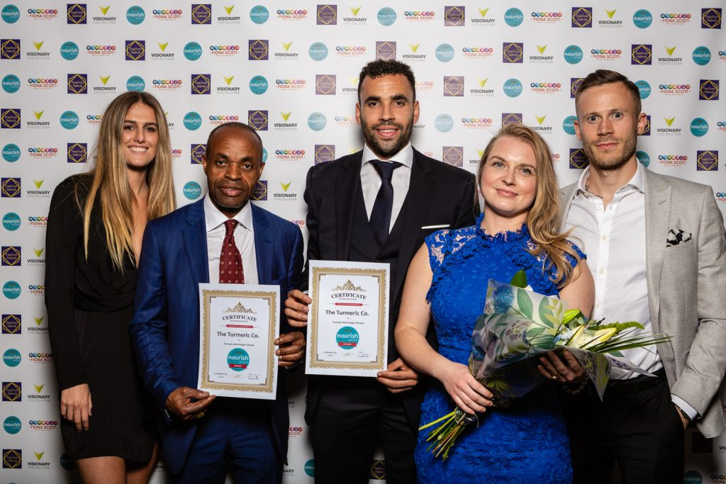 Nourish Awards 2018 - The Turmeric Co